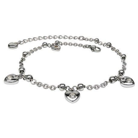 AKBR005 In-her-heart Anklet (SS)