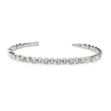 2ec12df35910 Home   Jewellery   Swarovski Elements   Infinity Tennis Bracelet (SS)-Made  with SWAROVSKI ELEMENTS